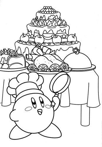 nintendo kirby coloring pages - photo#20