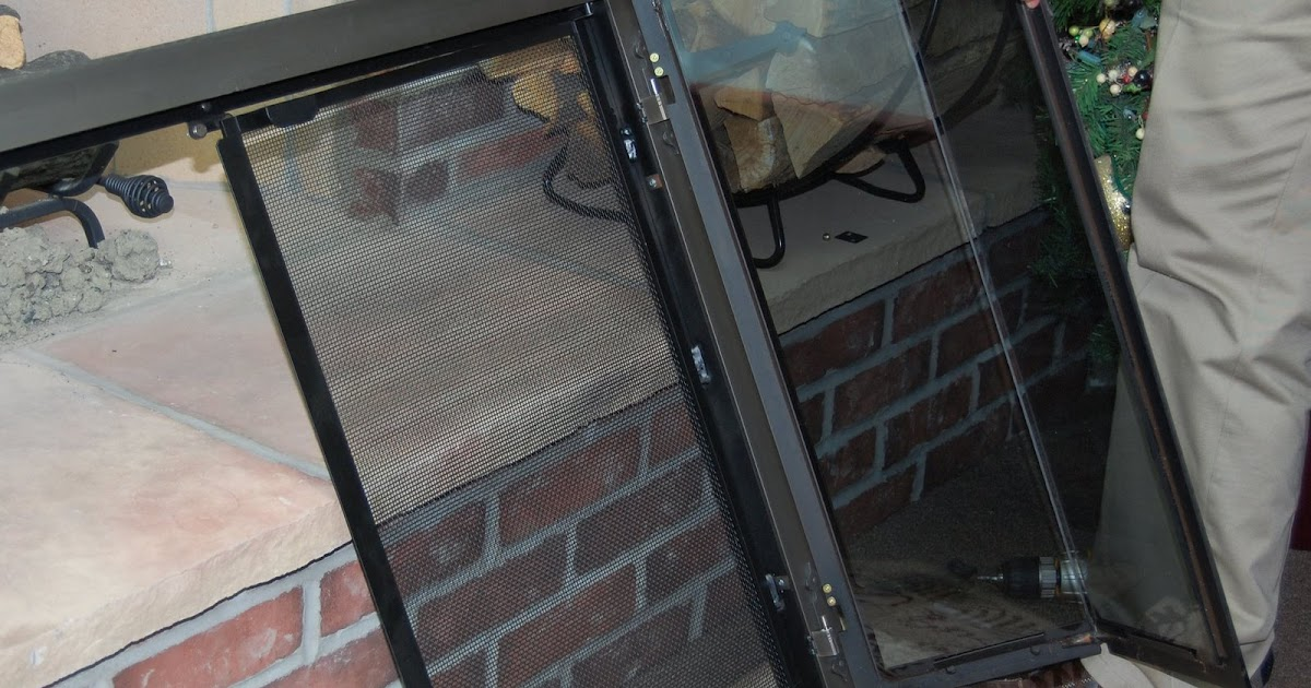 Fireplace Doors Guide How To Install Fireplace Doors