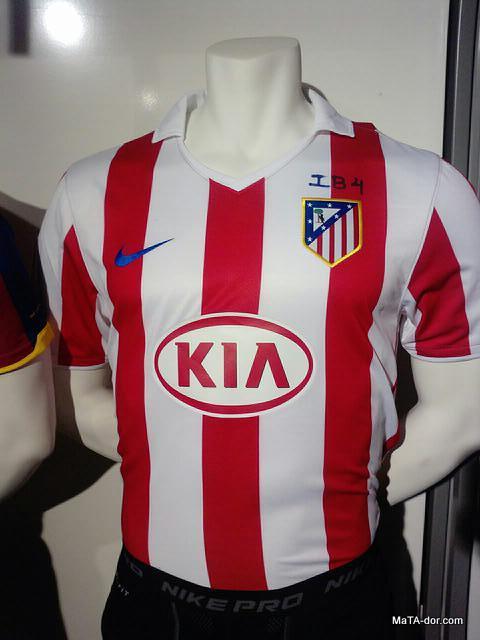 e94efafa067b9 La próxima camiseta Nike del Atlético de Madrid para la temporada 2010-2011.