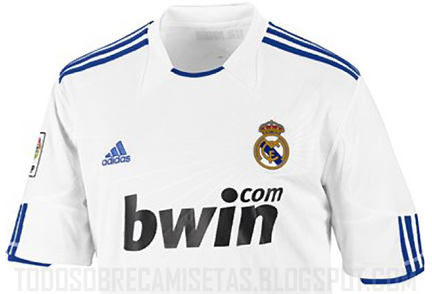 9a1cd152cfb1b Camiseta del Real Madrid 2010 11