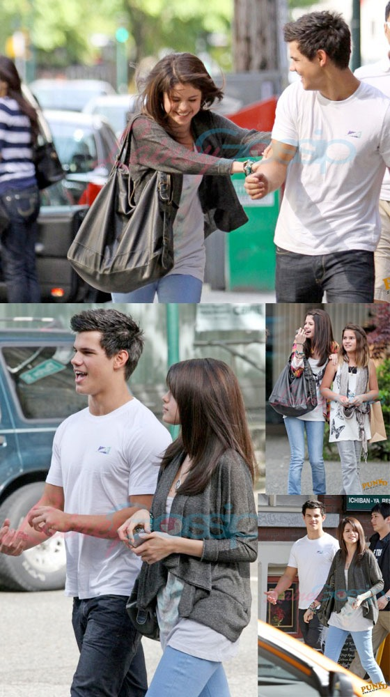 are taylor lautner and selena gomez dating
