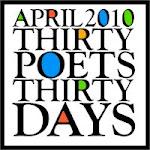 30 Poets/30 Days - April, 2010