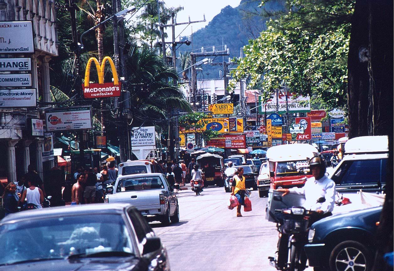 Andaman Coast Travel Tour Information Patong Phuket Town