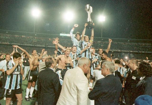 Resultado de imagem para Grêmio campeão brasileiro 1996