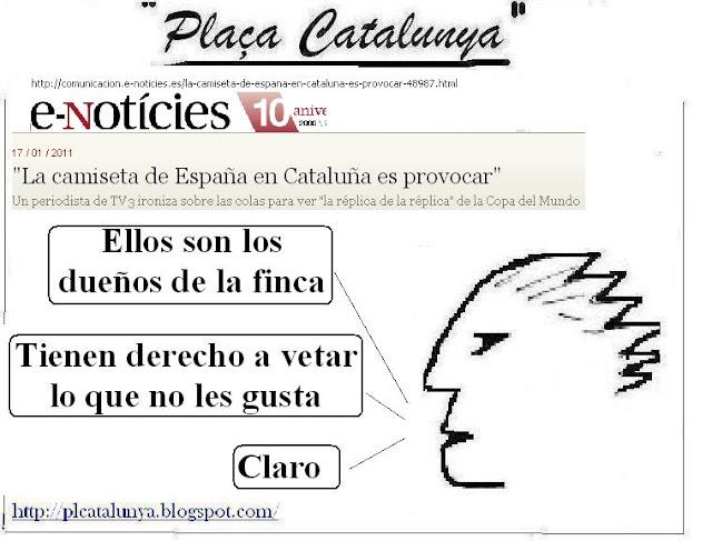 Viñeta Plaça Catalunya (18.01.2011)