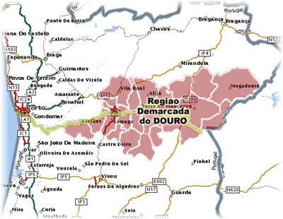 mapa alto douro Um Mundo Global: Visita de Estudo à região do Alto Douro   21 de  mapa alto douro
