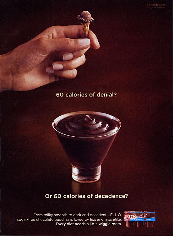Rhetorical Analysis: JELL-O Chocolate Sugar Free Pudding