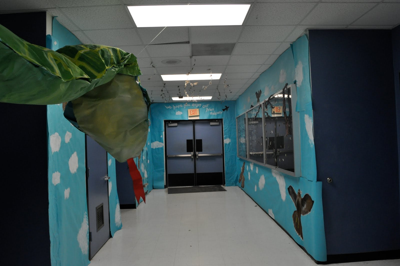 High School Hallways Decorating Ideas
