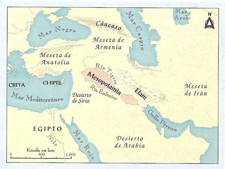 Resultado de imagen para mapa de mesopotamia asiatica