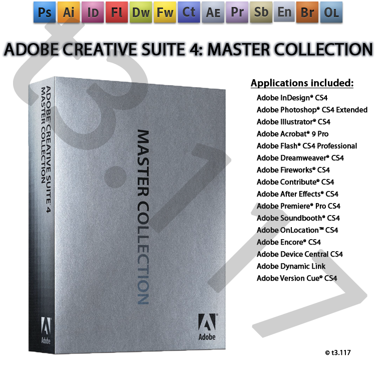 Adobe creative suite 4 master collection discount