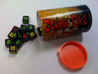 Zombie Dice is a quick easy zombie game