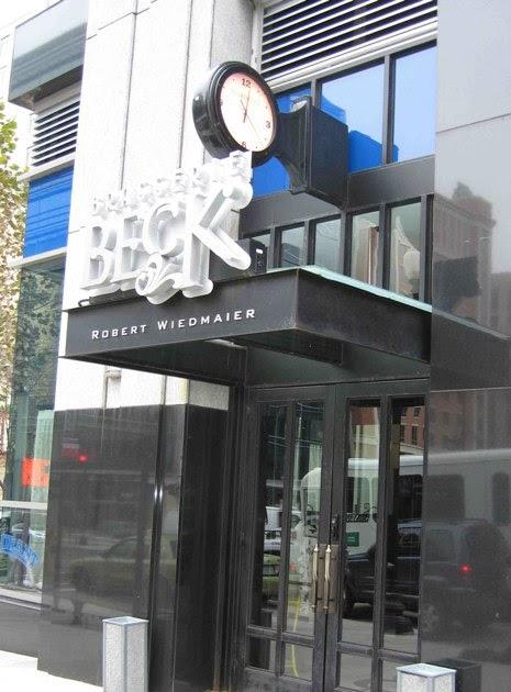 Bayside Ramblings Brasserie Beck in Washington DC