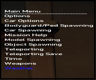 IV - Simple Native Trainer  ~ Portal do GTA