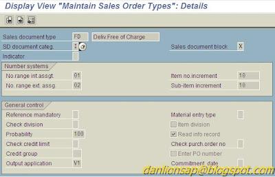 Dan'Lion SAP: Cost Center Field In Sales Order Transaction VA01