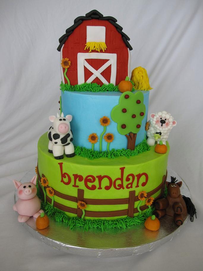 Farmhouse Birthday Party