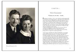 sample personal biography book pages