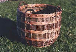 basket from Arran, Scotland
