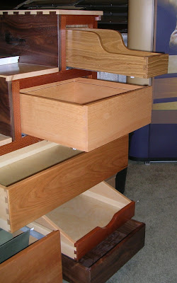 cabinet dovetail drawers made with FSC certified woods
