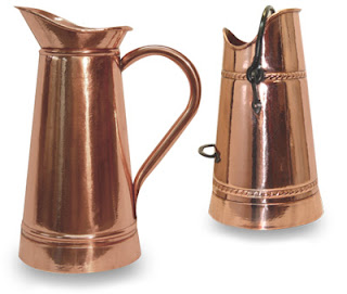 French copper umbrella stands