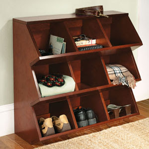 storage cubbies - for shoes or a wide range of other things