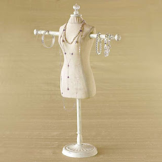 dress frame jewelry mannequin