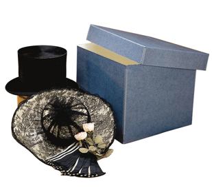 archival hat box