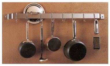Wall Mounted Bar Pot Rack
