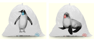 cute garbage bag from Japan