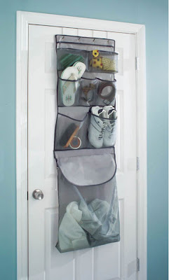 over door organizer with laundry bag