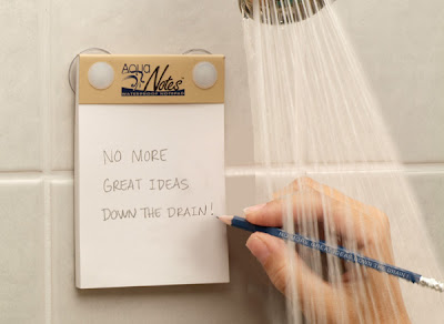 waterproof notepad for shower