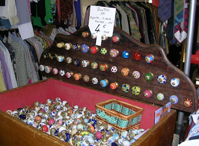 knobs for drawers, doors, etc. from Paris flea market