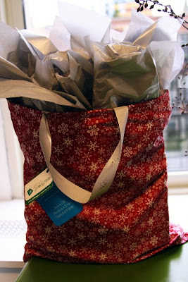 large Christmas gift bag