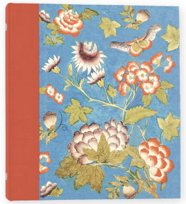 address book, floral design