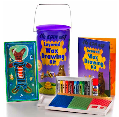 wax drawing art kit