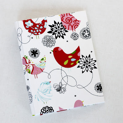 planner cover with birds