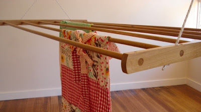 ceiling-mounted drying rack