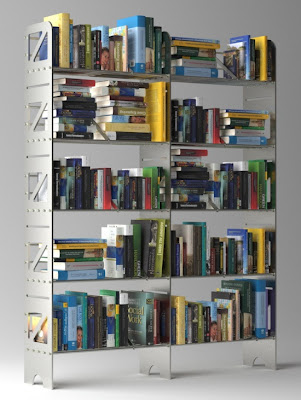 modular steel bookcases