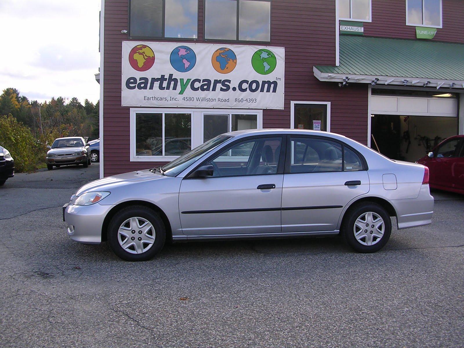 Earthy Car Of The Week 2004 Silver Honda Civic Vp