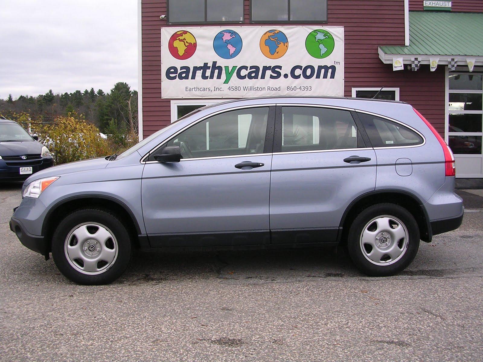 earthy cars blog earthy car of the week blue 2008 honda cr v lx 4wd. Black Bedroom Furniture Sets. Home Design Ideas