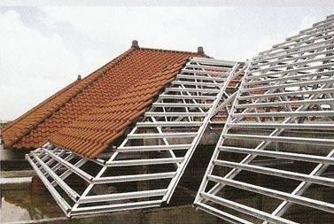 harga atap baja ringan zinc rangka