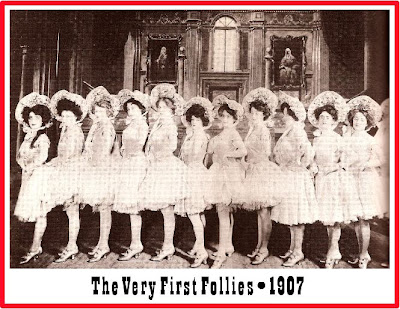 Image result for ziegfeld stages first follies