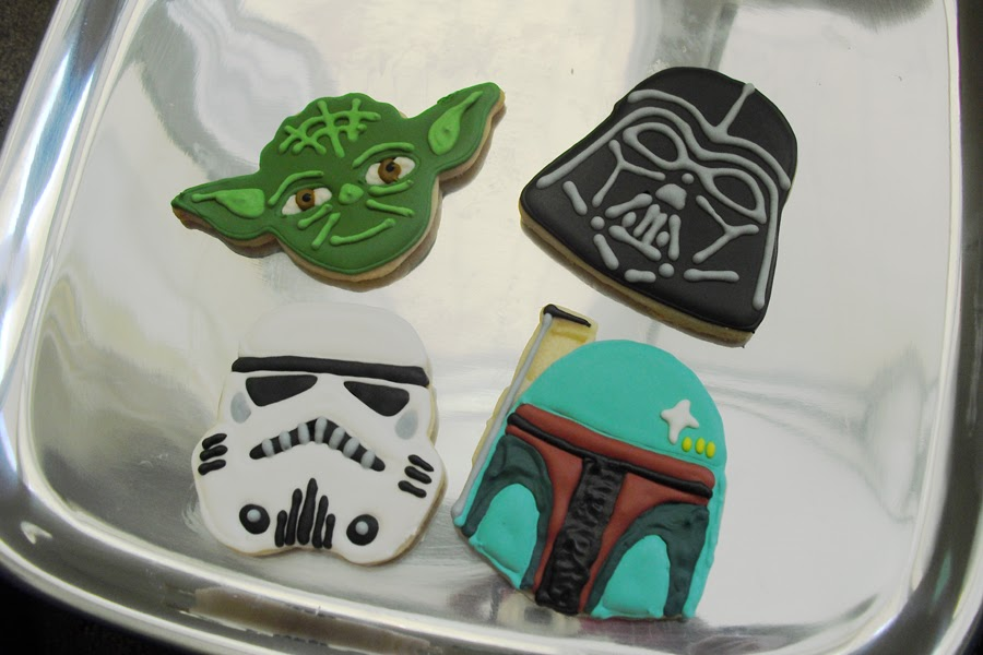 Sugar Cookies Cakes And More Star Wars Cookies