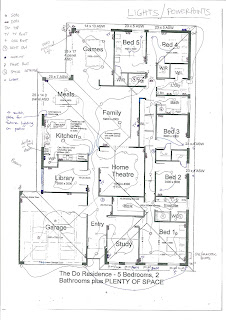 The DO Residence: Electrical Plan
