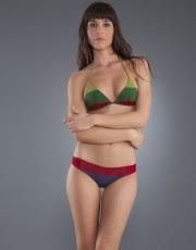 bikini triangulo rayas