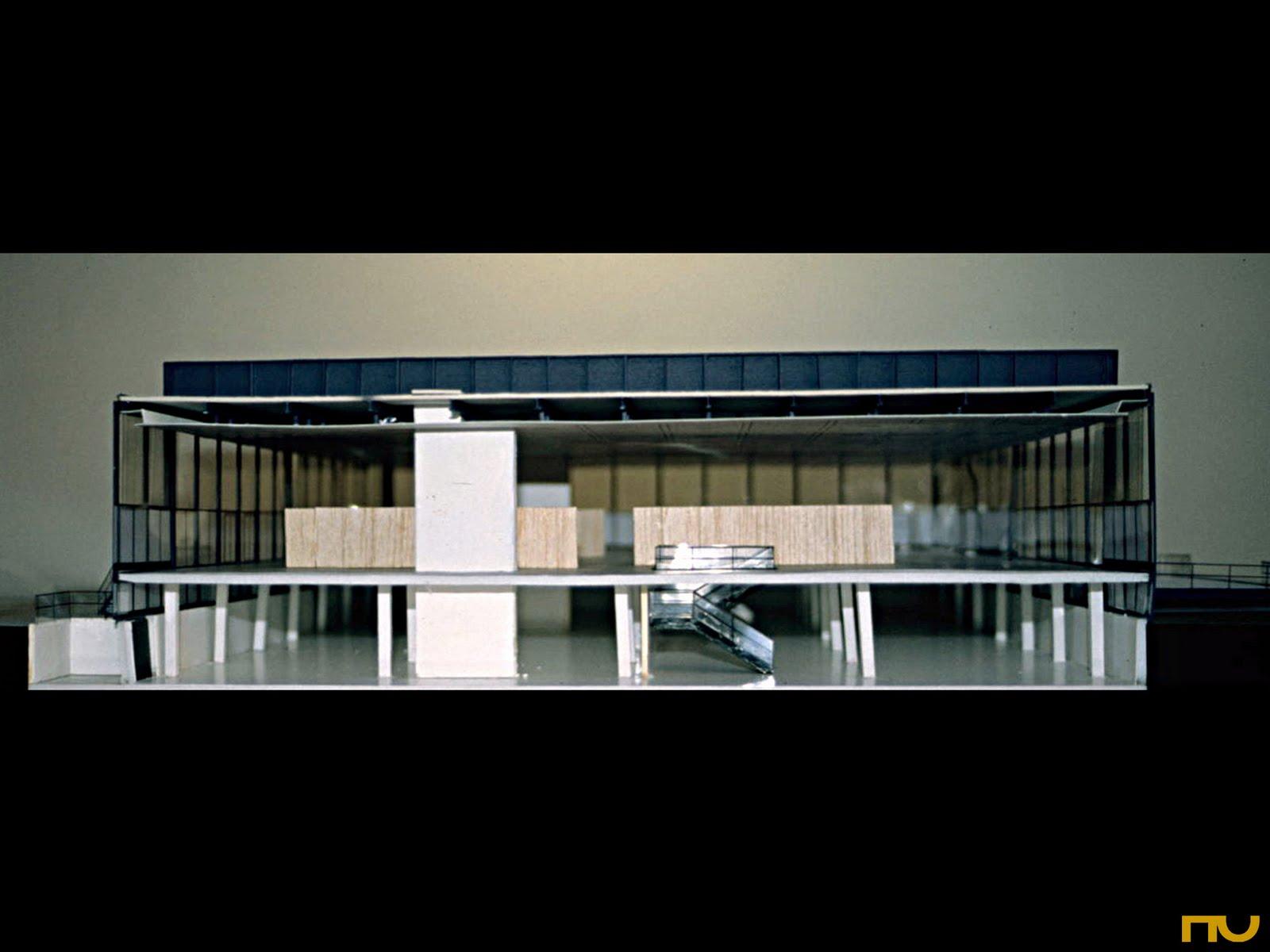 Mies Van Der Rohe The Crow Hall 195069  Taringa