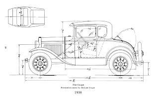 scootermcrad s whatchaworks model a ford dimensions Ford Model A Coupe Body model a ford dimensions
