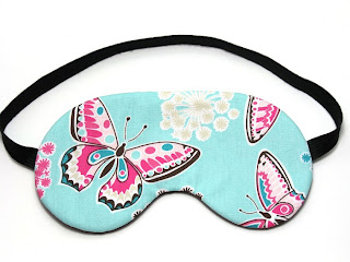image butterfly sleep mask eye mask