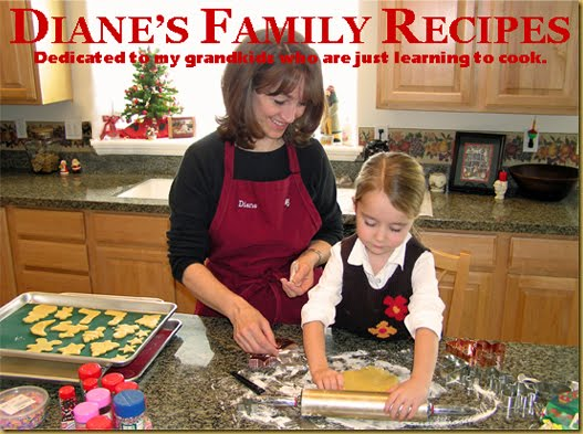 Diane's Family Recipes