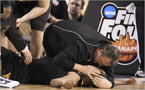 "Athletic Training: The ""Bob Huggins Moment"""