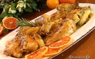 Faraona al forno con patate: ricetta dell'arrosto   Agrodolce